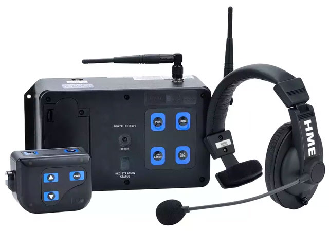 HME DX100 wireless intercom system аренда прокат